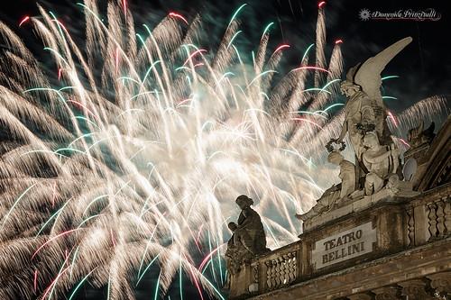 Saint's fireworks