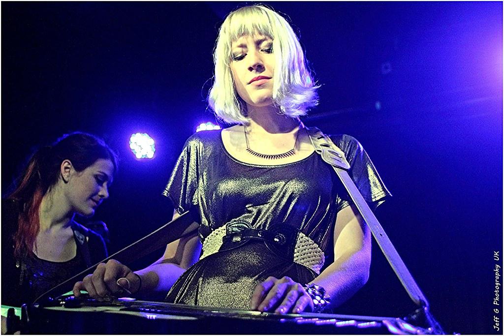 Megan Lovell Of Larkin Poe  On Slide Guitar