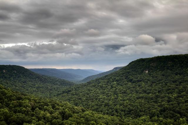 Buzzard's Roost, Fall Creek Falls State Park, Van Buren County, Tennessee 2