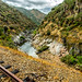 Tua old railway line, Douro, Portugal