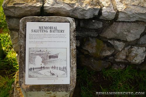 The Memorial Saluting Battery   by Benjamin Beck