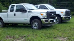 F250 6.2L V8 with CNG Prep Engine Package offered by Ford