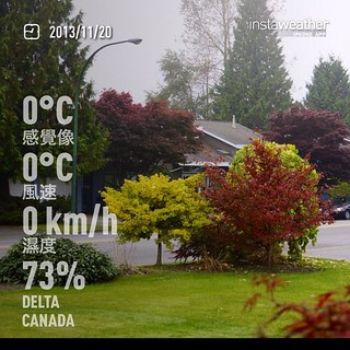 #weather #instaweather #instaweatherpro  #sky #outdoors #nature #world #love #followme #follow #beautiful #instagood #fun #cool #like #life #nice #happy #colorful #photooftheday #amazing #delta #canada #day #autumn #clear #cold #ca ☁️晚上好 | by Soonlee2009