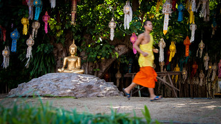 2013-11-12 Thailand Day 05, Wat Phan Tao, Chiang Mai, Loy Kratong Preperations | by Qsimple, Memories For The Future Photography