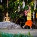 2013-11-12 Thailand Day 05, Wat Phan Tao, Chiang Mai, Loy Kratong Preperations