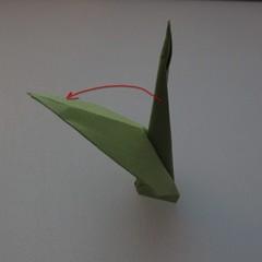 วิธีพับกระดาษเป็นดอกทิวลิป 026