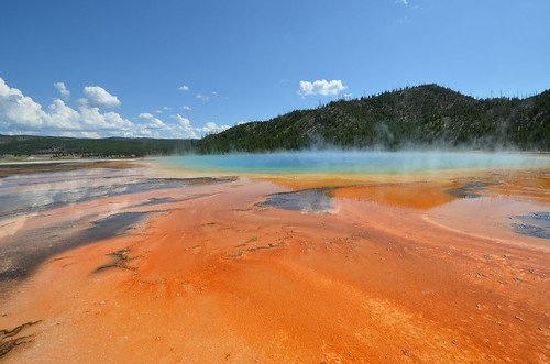 Grand Prismatic Spring, Yellowstone NP | by Ka!zen