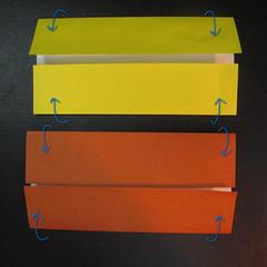 สอนวิธีพับกระดาษเป็นดาวกระจายนินจา (Shuriken Origami) - 002
