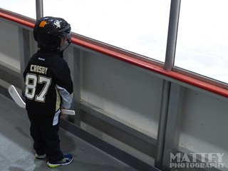 A Young Sidney Crosby Fan and Possible Future NHL Hockey Player