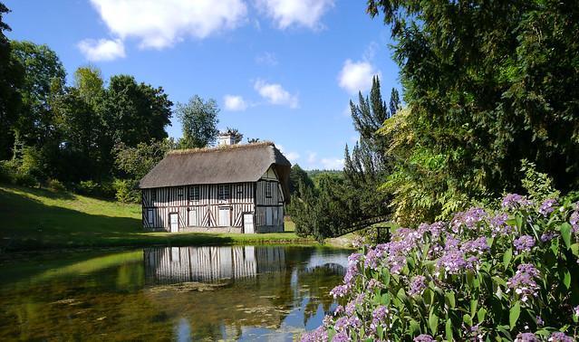 Fontaine-la-Sorêt - parc du château