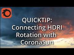 Синхронизация HDRI карты с солнцем в 3DS MAX