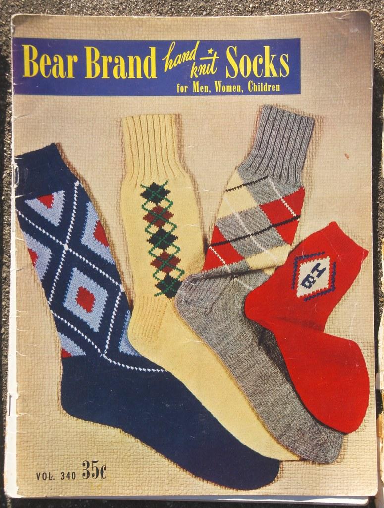 5 Vintage Sock Knitting Pattern Books Profkaren Flickr