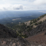 Looking south towards the Grand Canyon of the Yellowstone