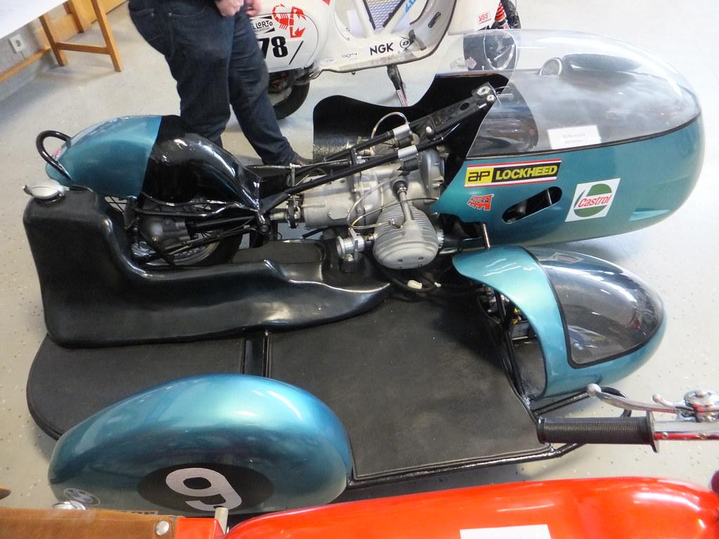 BMW Rennsport Sidecar Racer 500cc DOHC