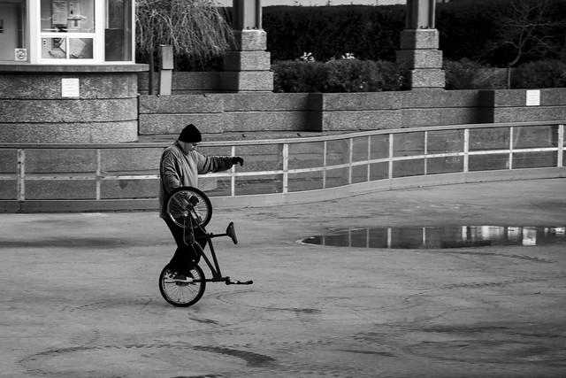 Bicycle Ballet. Windsor, ON.