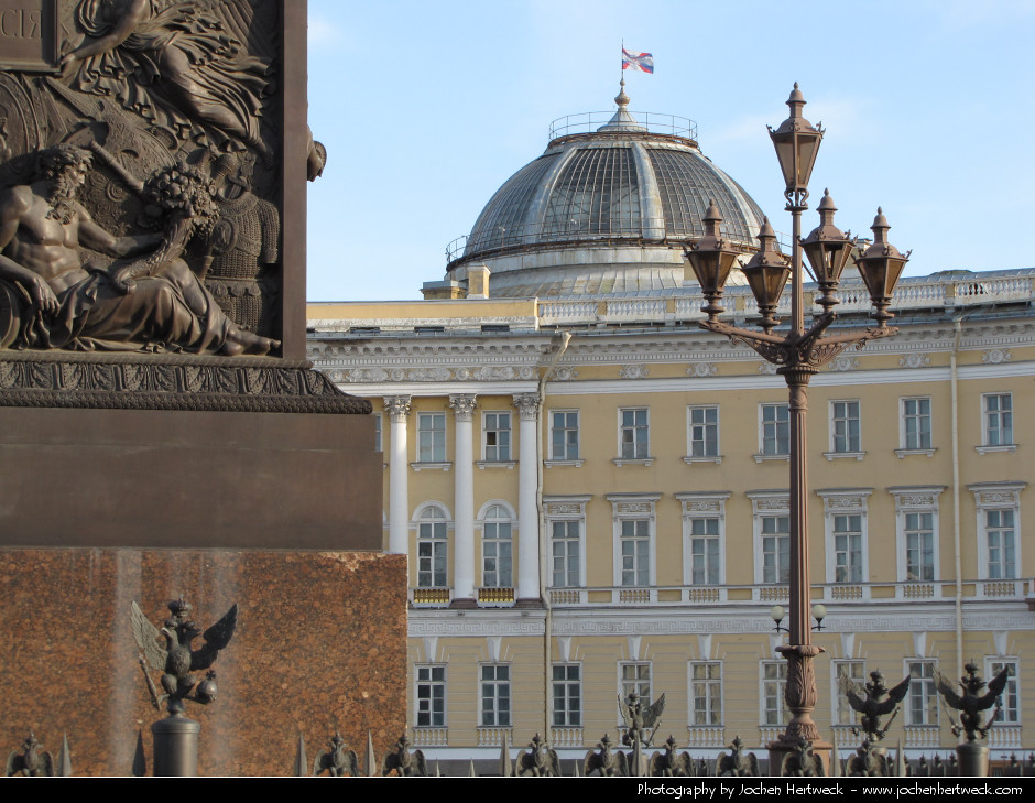 Palace Square & Alexander Column, St. Petersburg, Russia