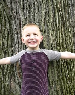 raglan sleeve t-shirt for the little guy