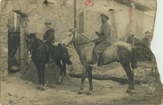 Maroc 1913 , mon grand-père, Etienne, à 14 ans