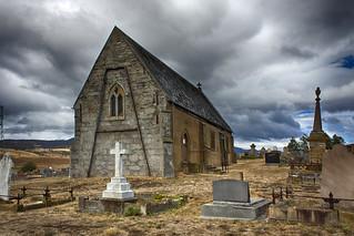 St Mary's Anglican Church, Gretna,Tasmania (HDR) | by bidkev1 and son (see profile)