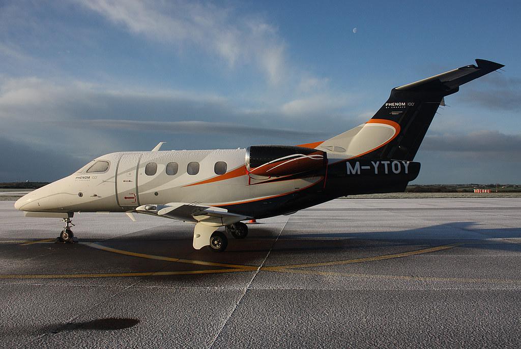 M-YTOY Embraer Phenom 100   ORK 16/12/11   corkspotter / Paul Daly