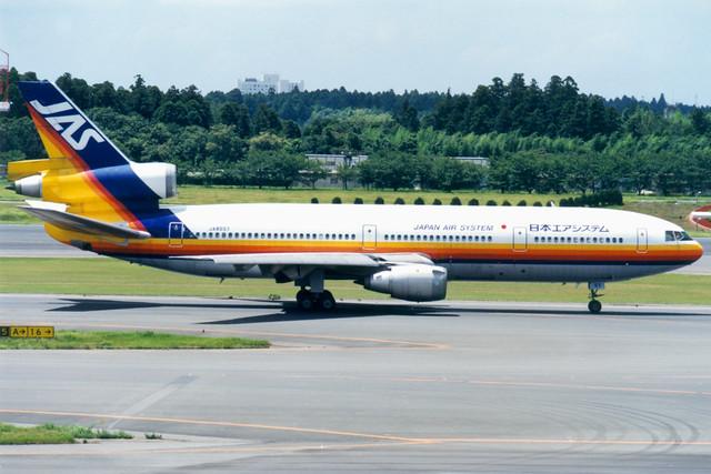 Japan Air System | McDonnell Douglas DC-10-30 | JA8551 | Tokyo Narita