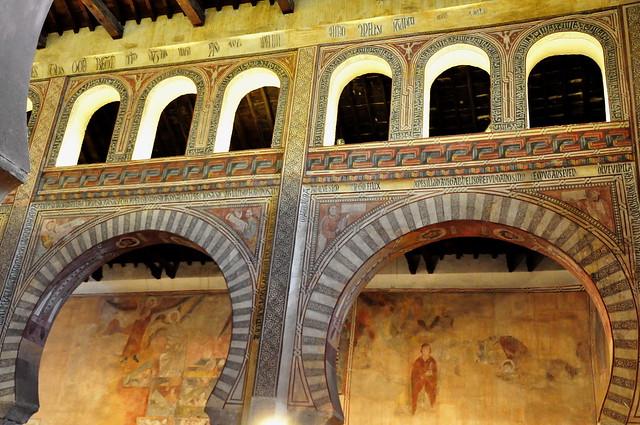 282 - Pinturas Arcos Laterales - Iglesia San Román (Toledo) - Spain.