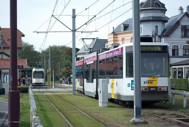 Coastal trams, De Haan