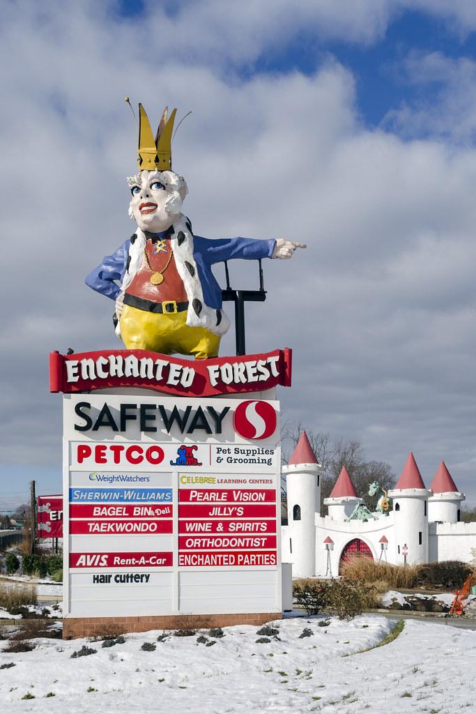 Enchanted Forest Shopping Center Ellicott City Md Flickr