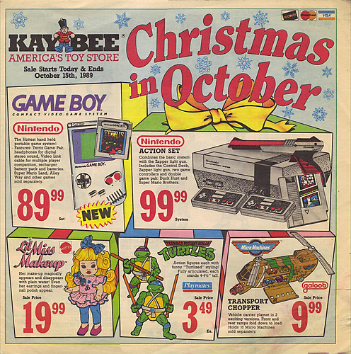 KAY•BEE TOY STORES :: Christmas in October pg.1  (( OCTOBER,8 1989 )) by tOkKa