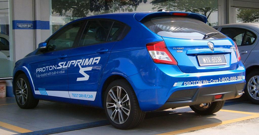 2013 Proton Suprima S Premium (Test Drive Car)