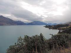 Lake Wakatipu on the way back from Isengard