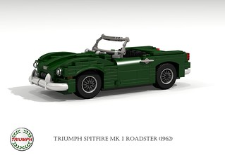 Triumph Spitfire Mk I Roadster (1962) | by lego911