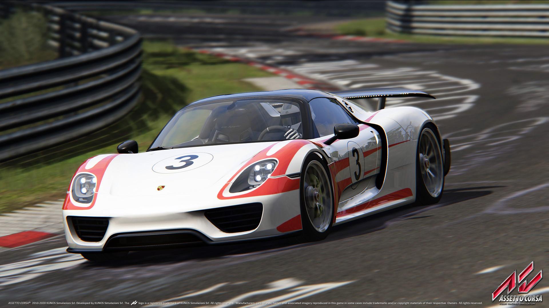 Porsche DLC 20