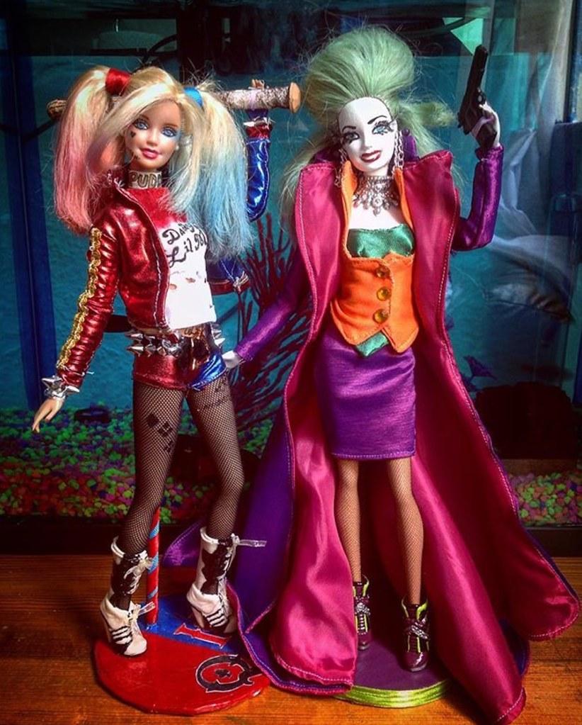 Barbie Harley Quinn \u0026 The Joker Dolls | dih Miranda | Flickr