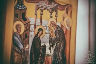 Литургия в Спасском соборе 335