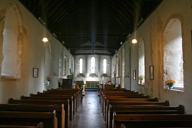 West Thorney church