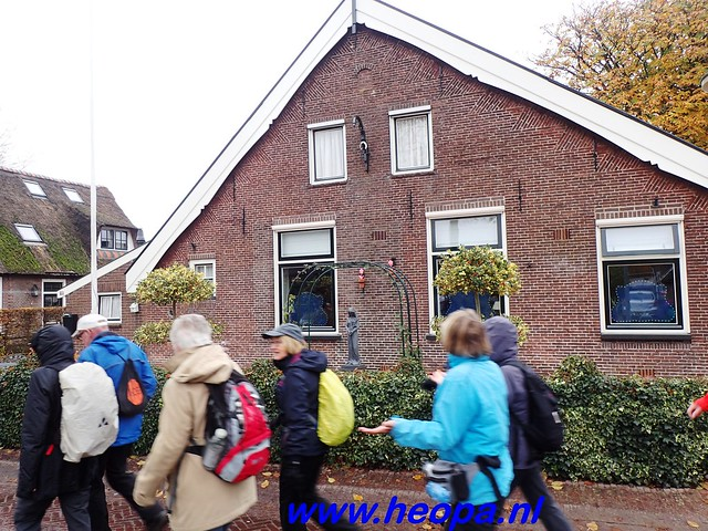 2016-11-09  Gooimeer tocht   25 KM   (16)