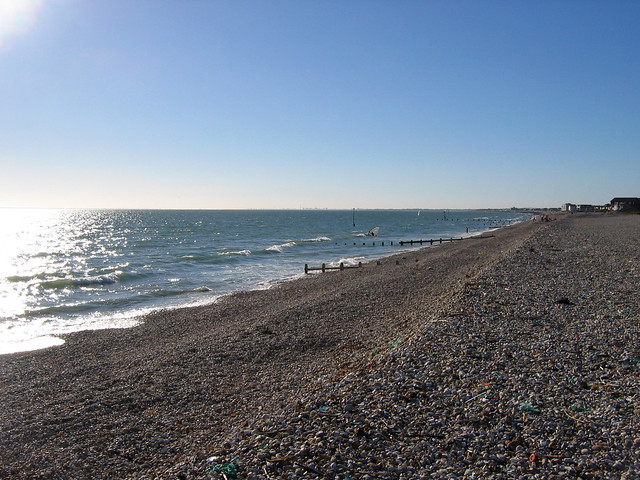 The coast at East Wittering