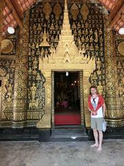 Watbesichtigung -Luang Prabang