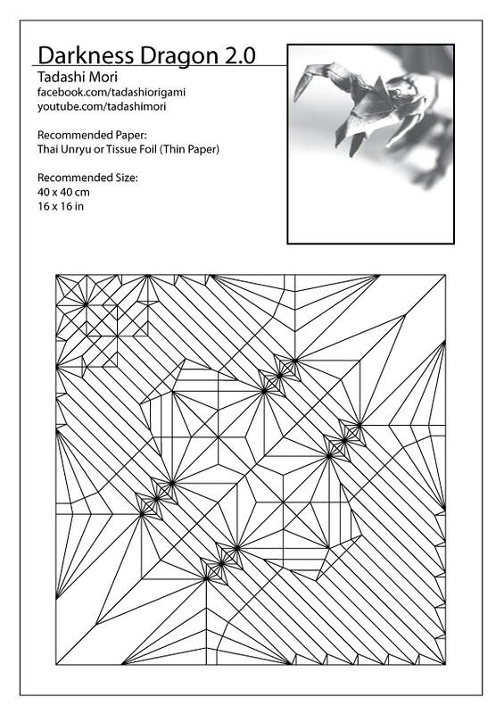 26 Advanced origami Ancient Dragon Instructions | Ancient dragon ... | 800x565