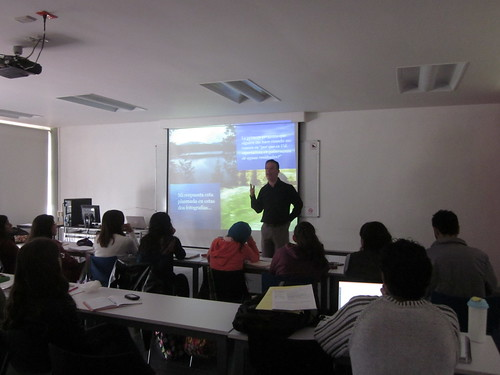 Dr. Raul Pacheco-Vega at CIGA-UNAM (Morelia)