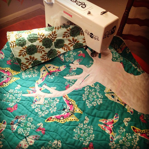 Deer Quilt in Progress | by Sarah.WV