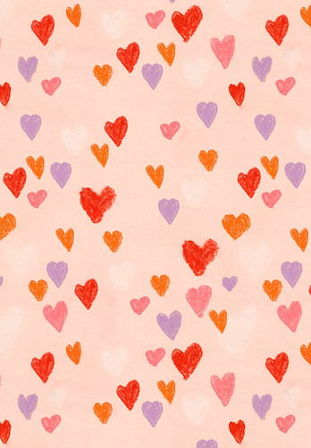 hearts pattern bigger | by cardboardcities