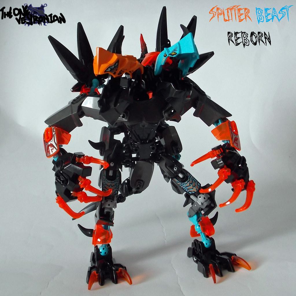 Lego Hero Factory Moc Splitter Beast Reborn Mod 1 Flickr