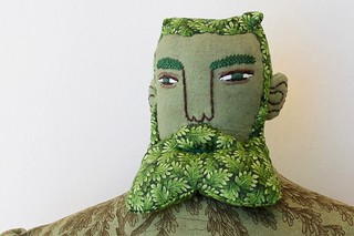Green Man face | by Mimi K