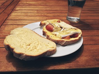 Brie and Bacon sandwich | by Francis Maina