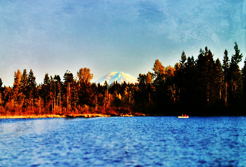 seattle autumn sunset lake fall leaves sunrise reflections river washington spring fishing stream pacific northwest salmon canoe tacoma trout renton fishes flickr365