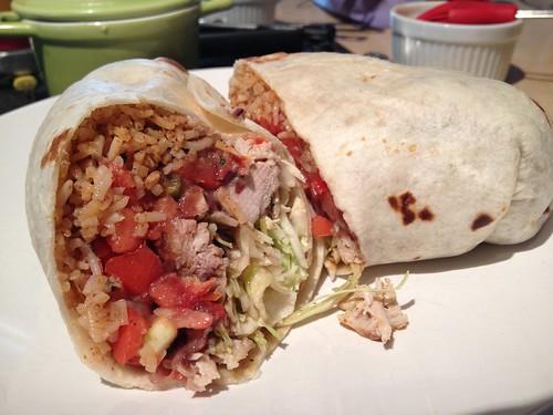 Pork Burrito | by jenarrr