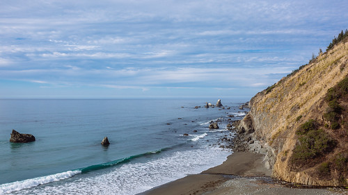 pacificocean california shore rocky water waves sky horizon cloudy day highway1 canon landscape oceanscape nature scenic scenery canoneos5dmarkiii sigma35mmf14dghsmart
