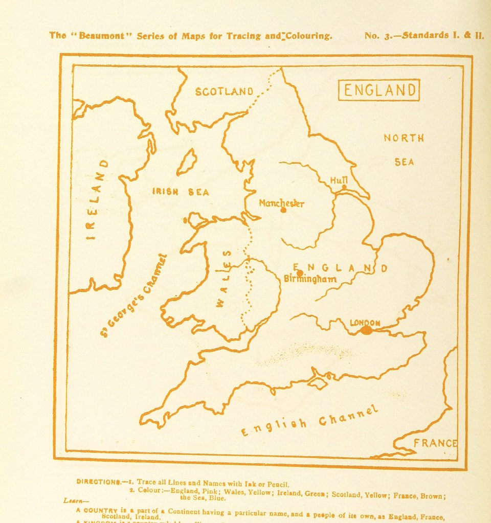 Image taken from page 20 of \'How to draw and colour a Map ...